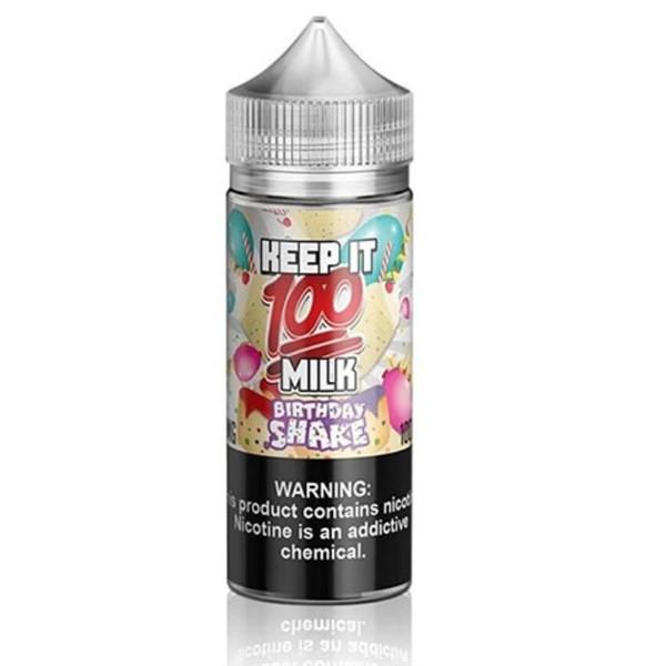 Birthday Shake E Liquid 100ml (120ml with 2 x 10ml nicotine shots to make 3mg) Shortfill By Keep It 100