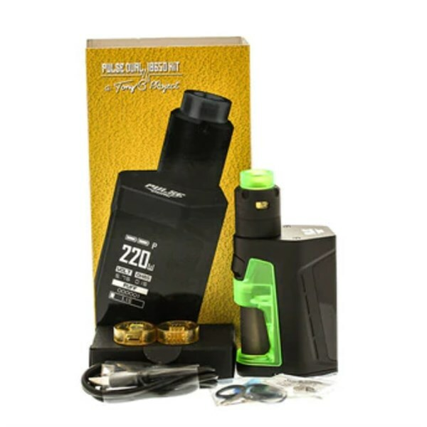 Vandy Vape - Pulse Dual Squonk Kit - Packaging & Contents
