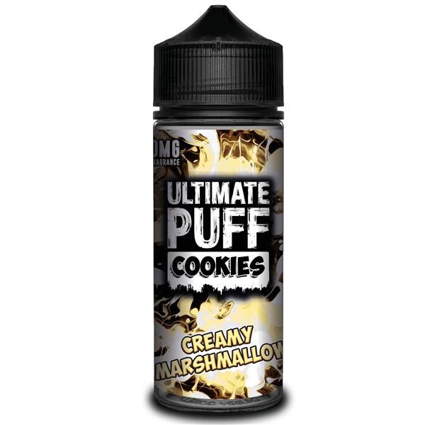 Creamy Marshmallow Cookies E Liquid (Zero Nicotine & Free Nic Shots to make 120ml/3mg) by Ultimate Puff