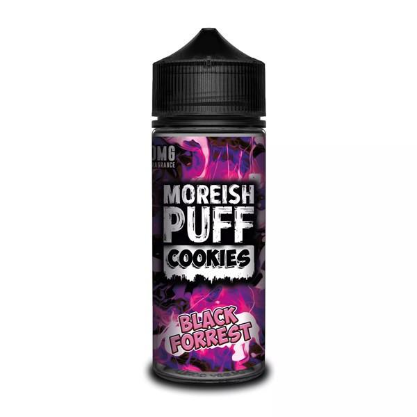Black Forest Cookies E Liquid (Zero Nicotine & Free Nic Shots to make 120ml/3mg) by Moreish Puff
