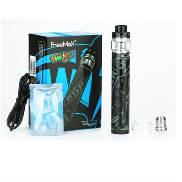 Freemax - Twister - Starter Kit - Packaging & Contents