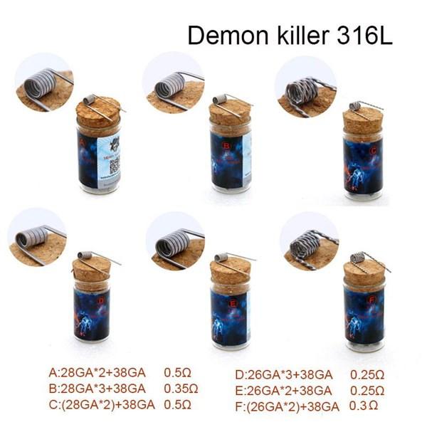 Demon Killer - Flame Coils - Coils Options