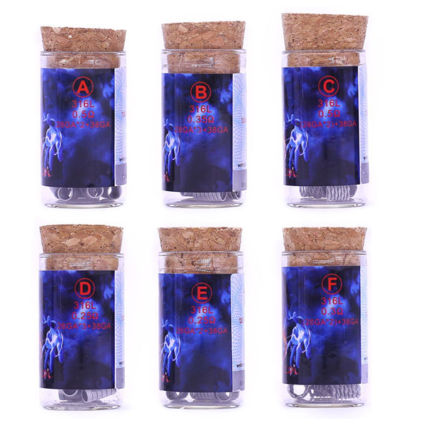 Demon Killer - Flame Coils - Packaging Example
