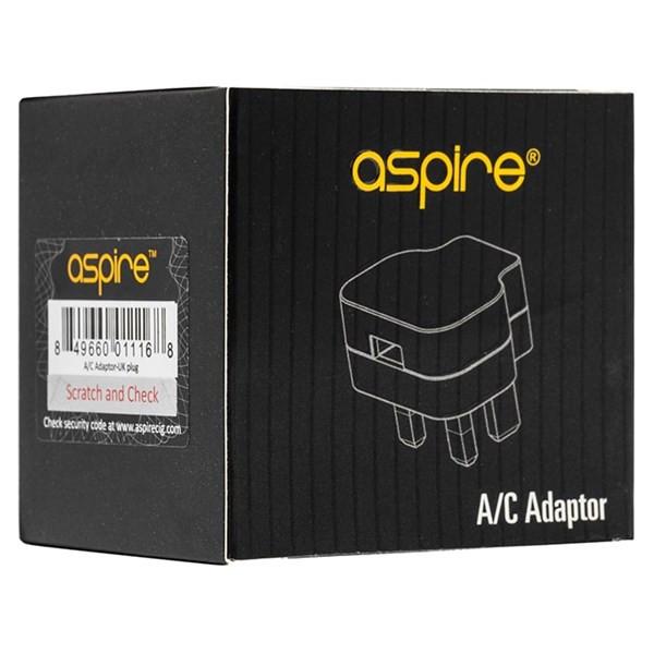 Aspire - USB Wall Plug (UK)- Packaging