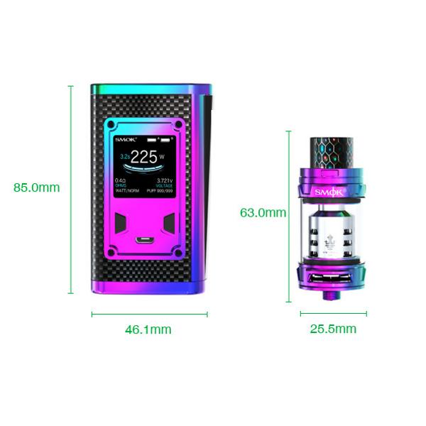 Smok Majesty Prism Kit - Sizes