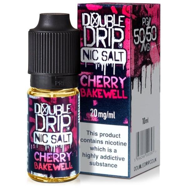 Cherry Bakewell - Double Drip Nic Salt - 20mg Nicotine Salts E Liquid - 10ML