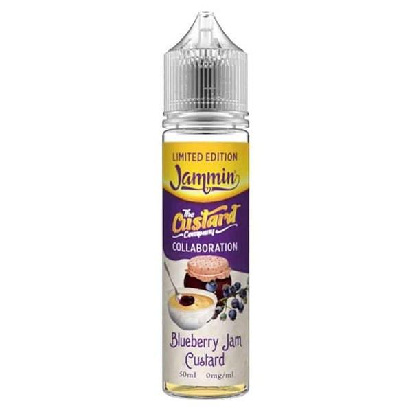 Blueberry Jam Custard E Liquid 50ml by The Custard Company Only £11.99 (Zero Nicotine or with Free Nicotine Shot)