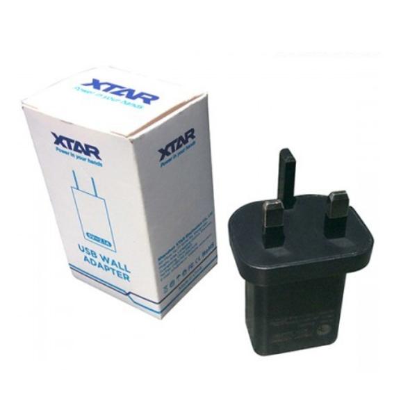Xtar - UK Mains Adaptor - 5V 2.1A