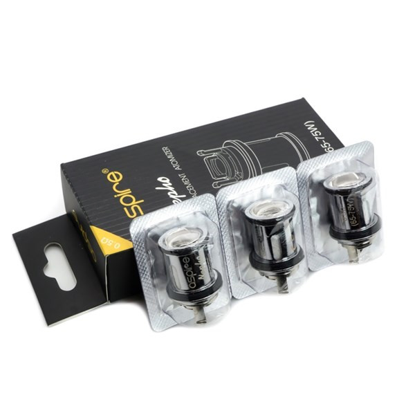 Aspire Nepho Replacement Coils & Packaging