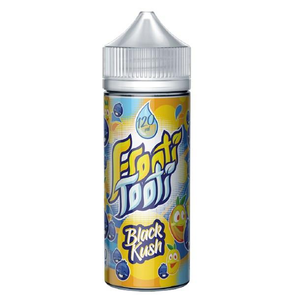 Black Kush E Liquid 100ml Shortfill by Frooti Tooti E Liquids Only £9.99 (FREE NICOTINE SHOTS)