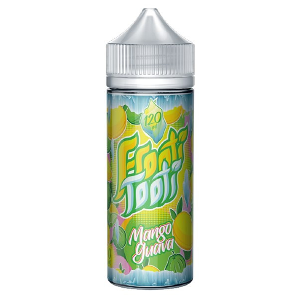 Mango Guava On Ice E Liquid 100ml Shortfill (120ml with 2 x 10ml nicotine shots to make 3mg) by Frooti Tooti E Liquids Only £12.99 (FREE NICOTINE SHOTS)