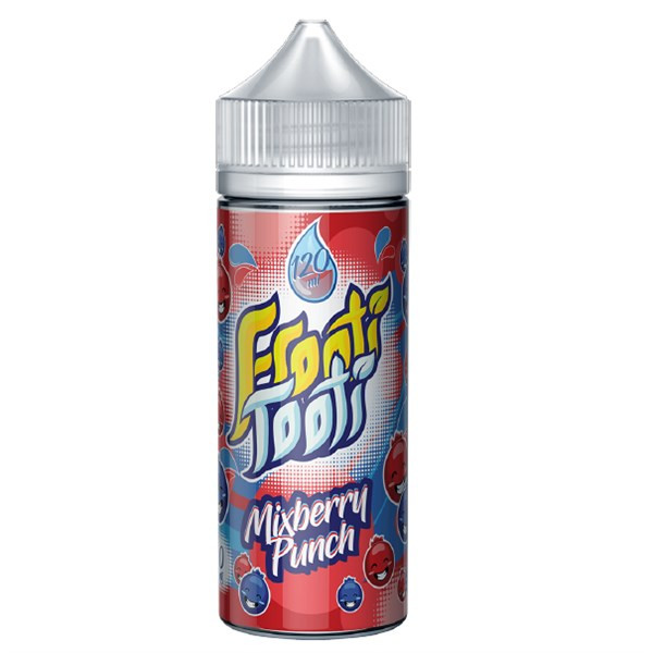 Mixberry Punch E Liquid 100ml Shortfill by Frooti Tooti E Liquids Only £9.99 (FREE NICOTINE SHOTS)