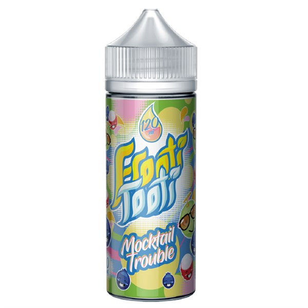 Mocktail Trouble E Liquid 100ml Shortfill by Frooti Tooti E Liquids Only £9.99 (FREE NICOTINE SHOTS)