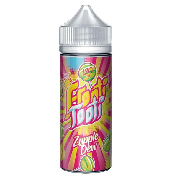 Zapple Dew E Liquid 100ml Shortfill by Frooti Tooti E Liquids Only £9.99 (FREE NICOTINE SHOTS)