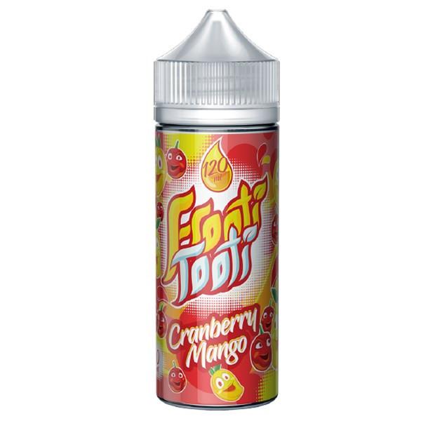 Cranberry Mango E Liquid 100ml Shortfill (120ml with 2 x 10ml nicotine shots to make 3mg) by Frooti Tooti E Liquids Only £12.99 (FREE NICOTINE SHOTS)