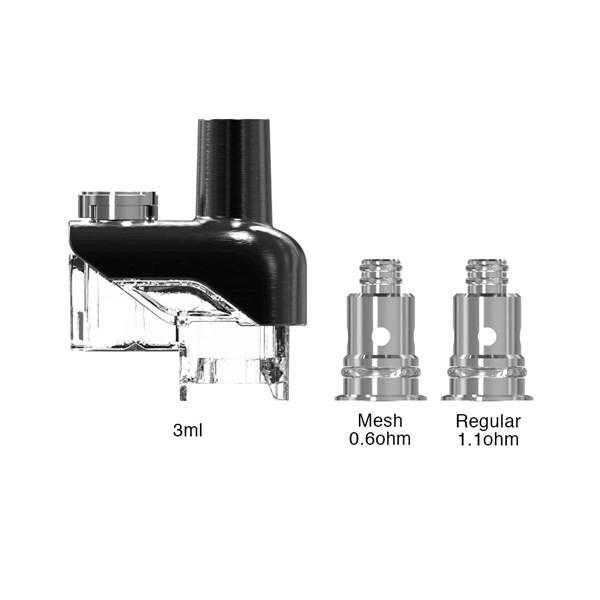 Sense - Orbit TF - Pod Vaping Kit - Pod & Coil Example