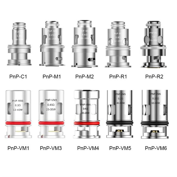 Voopoo - PnP Coil Types