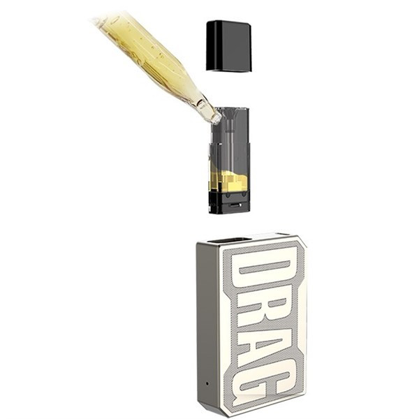 Voopoo Drag Nano - Pod Kit - Replacement Pods - Filling Illustration