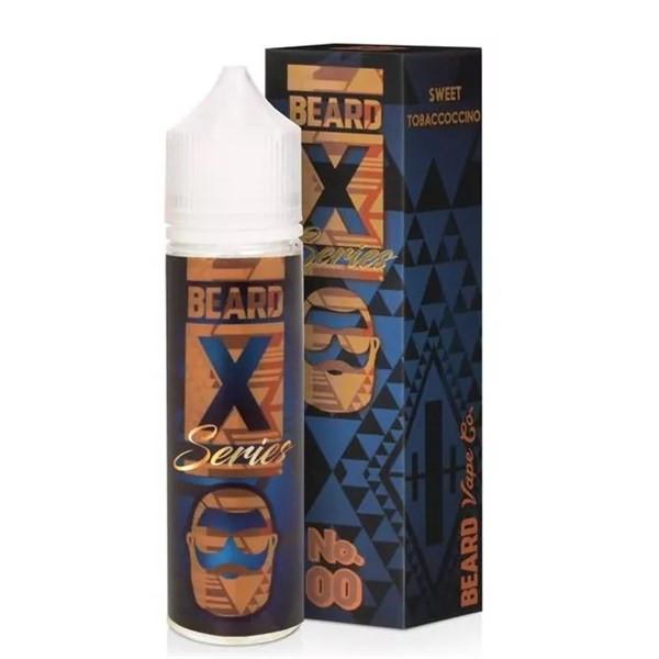 No.00 E-Liquid 50ml Shortfill 0mg (3mg With Use Of Free Nic Shot Provided) By Beard Vape Co.