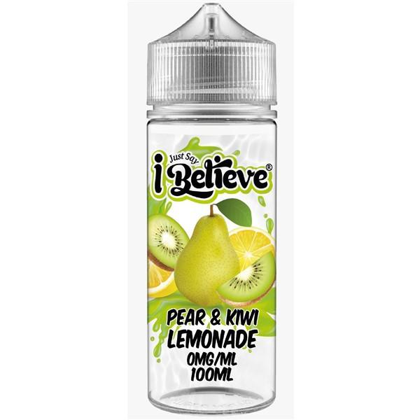Pear & Kiwi Lemonade E Liquid 100ml Shortfill By Just Say I Believe