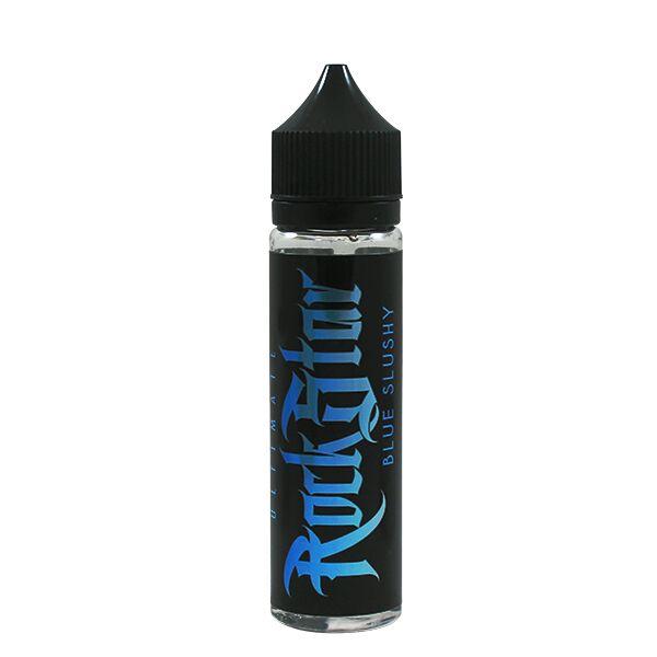 Blue Slushy E-Liquid 50ml (60ml with 1 x 10ml 18mg Nicotine Shot making 3mg liquid) Shortfill by Rockstar Vape