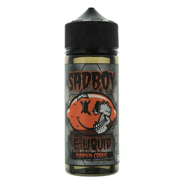 Pumpkin Cookie E Liquid 100ml Shortfill 0mg (120ml with 2 x 10ml Nicotine Shots Making Liquid 3mg) By Sadboy