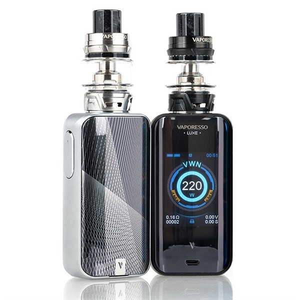 Vaporesso - Luxe S Kit - Front & Rear View