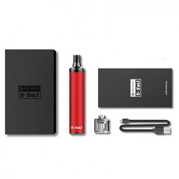 Dovpo - D-Salt - Pod Kit - Packaging & Contents