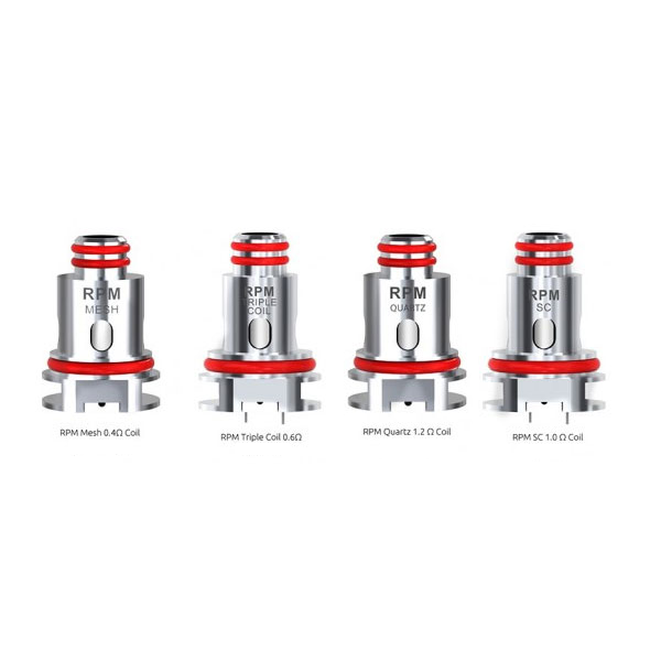 Smok RPM40 - Different Coil Types