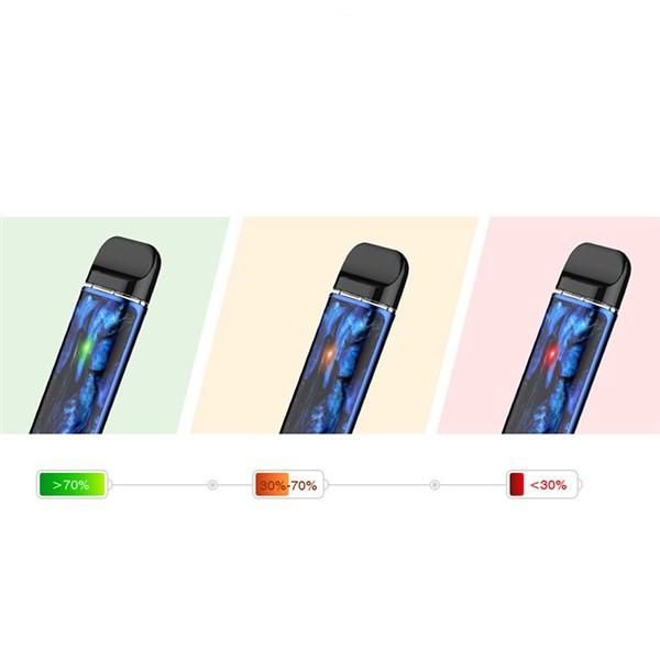 Smok Novo 2 Pod Kit - Battery Indicator Information
