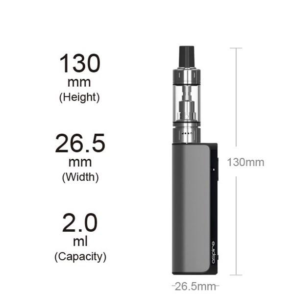Aspire K Lite Starter Kit - Sizes