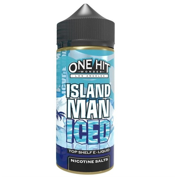Island Man Ice E Liquid 100ml by One Hit Wonder