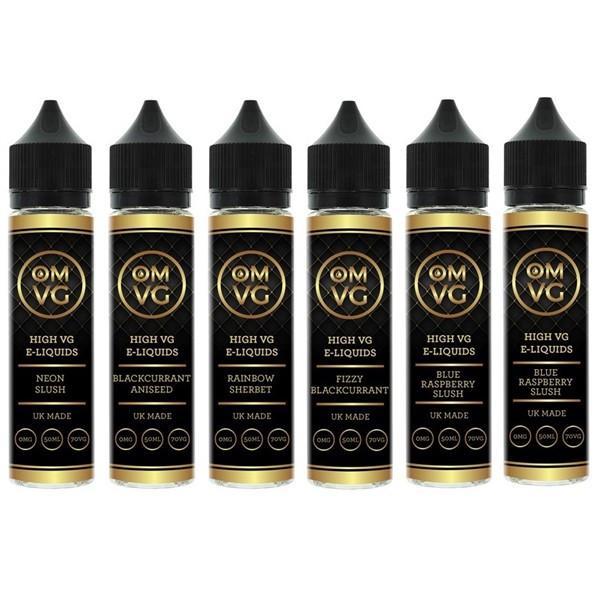6 x 50ml OMVG High VG E Liquids Variety Pack £21.99