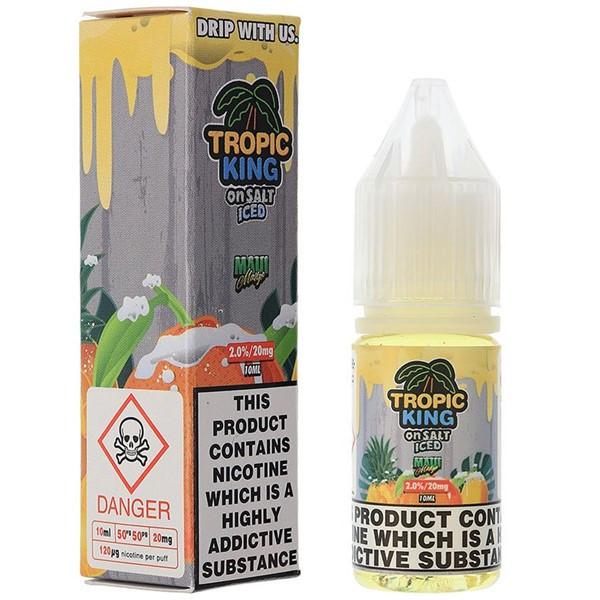 Iced Maui Mango Nic Salt E Liquid 10ml By Tropic King