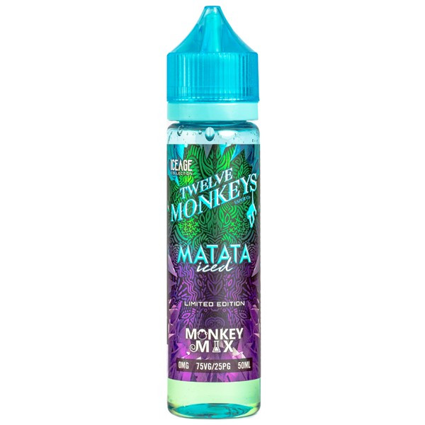 Matata Iced E Liquid 50ml By Twelve Monkeys