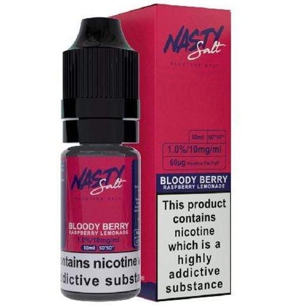 Bloody Berry Nic Salt E Liquid 10ml By Nasty Juice