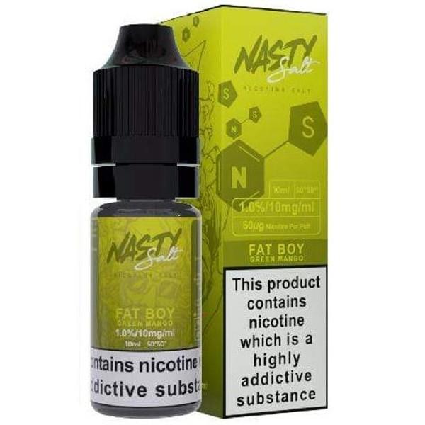 Fat Boy Nic Salt E Liquid 10ml By Nasty Juice