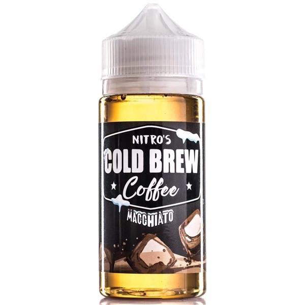 Macchiato Coffee E Liquid 100ml by Nitro's Cold Brew