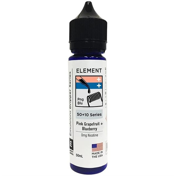 Pink Grapefruit & Blueberry E Liquid 50ml Shortfill by Element Mix Series