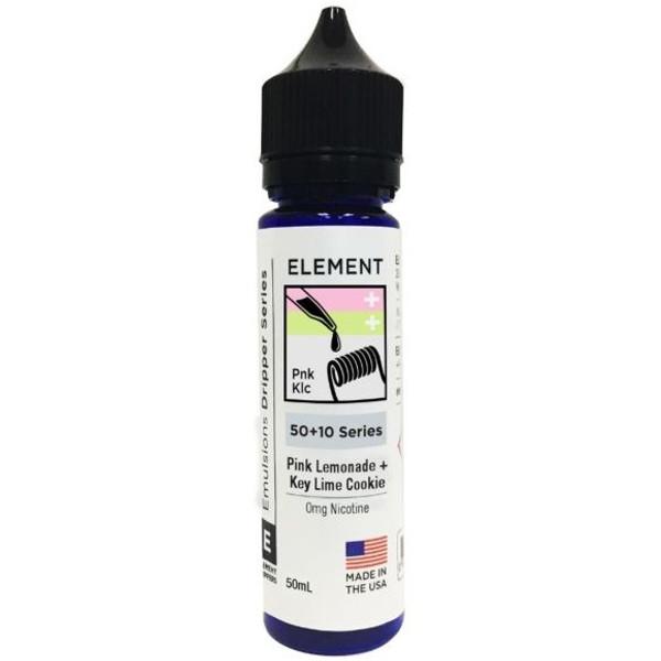 Pink Lemonade & Key Lime Cookie E Liquid 50ml Shortfill by Element Mix Series
