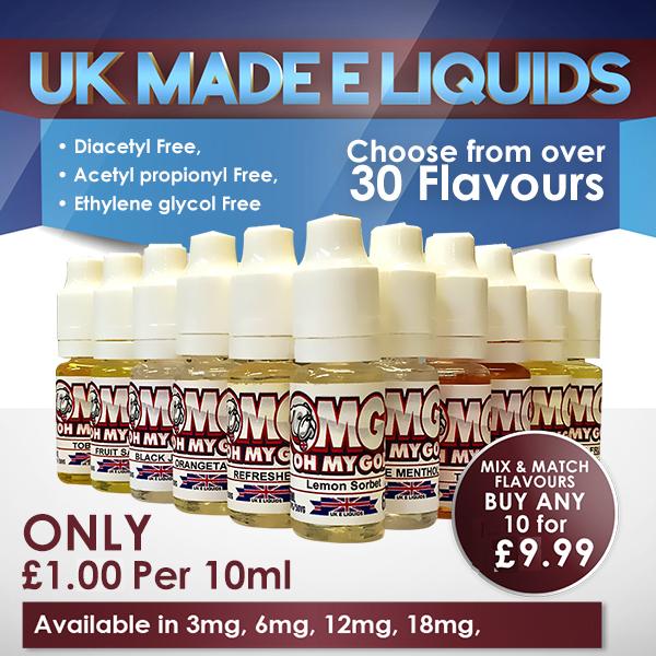 36 x 10ml High VG  Oh My God E Liquids Variety Pack