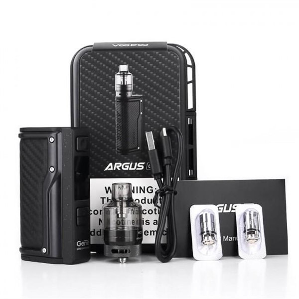 Voopoo Argus GT Vape Kit Box Contents
