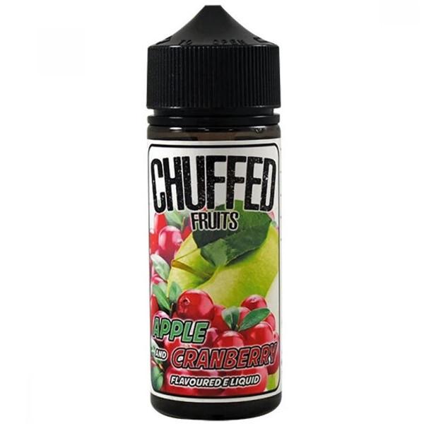 Apple & Cranberry E Liquid 100ml by Chuffed Fruits