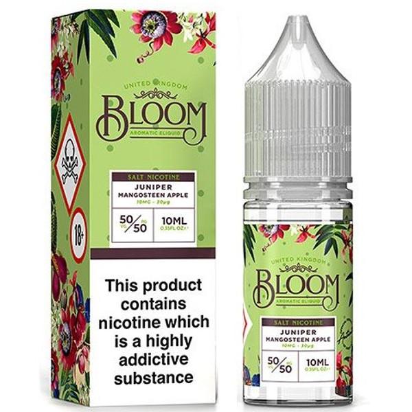 Juniper Mangosteen Apple Nic Salt E Liquid 10ml By Bloom