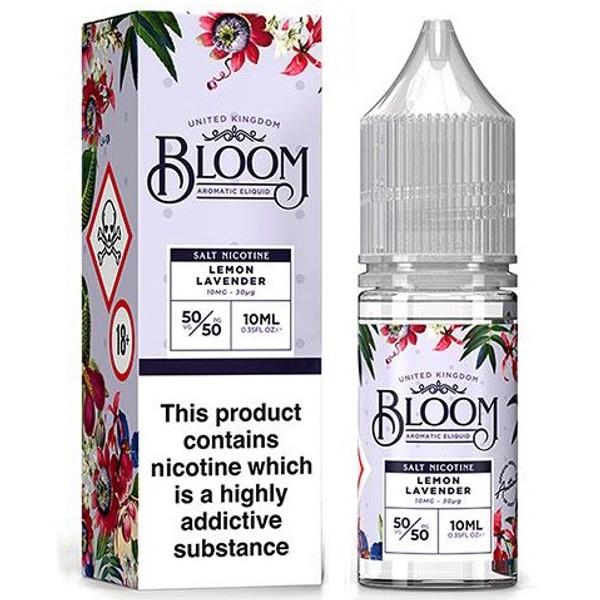 Lemon Lavender Nic Salt E Liquid 10ml By Bloom