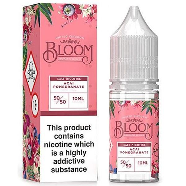 Acai Pomegranate Nic Salt E Liquid 10ml By Bloom