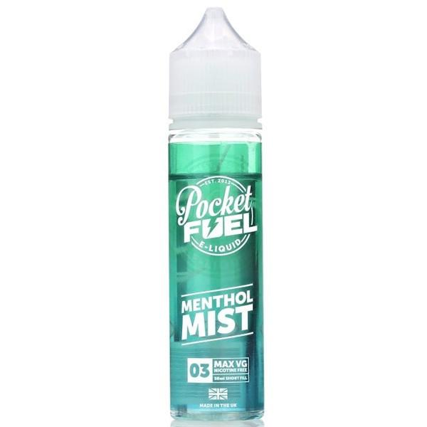 Menthol Mist E Liquid 50ml by Pocket Fuel