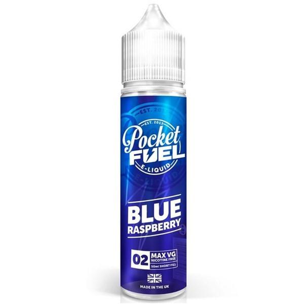 Blue Raspberry E Liquid 50ml by Pocket Fuel