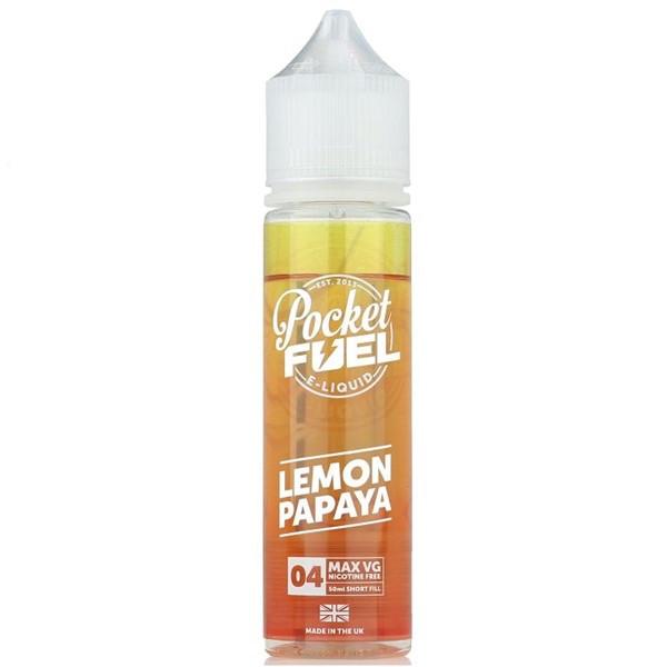 Lemon Papaya E Liquid 50ml by Pocket Fuel