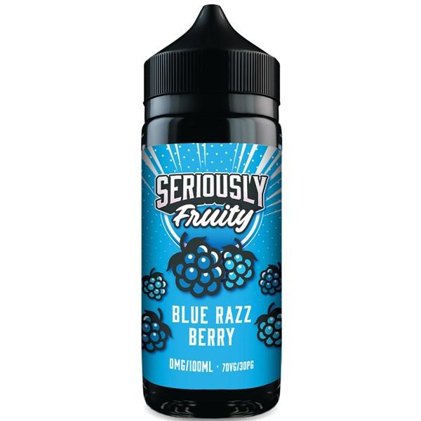 Blue Razz Berry E Liquid 100ml by Seriously Fruity